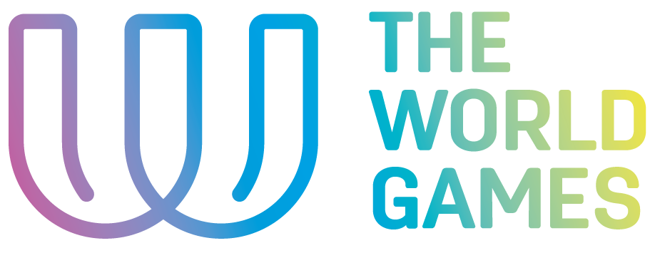 The World Games logo colour