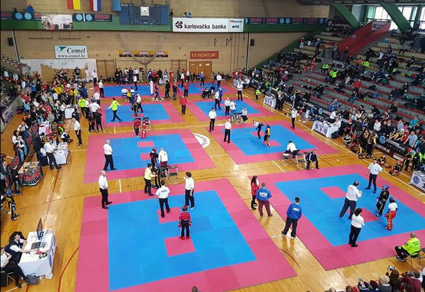 karlovac open 2018 hall view