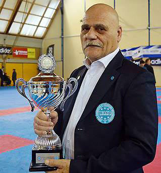 Oriano De Bei the best referee on the tatami
